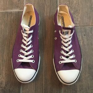 Purple low top Converse low top 10